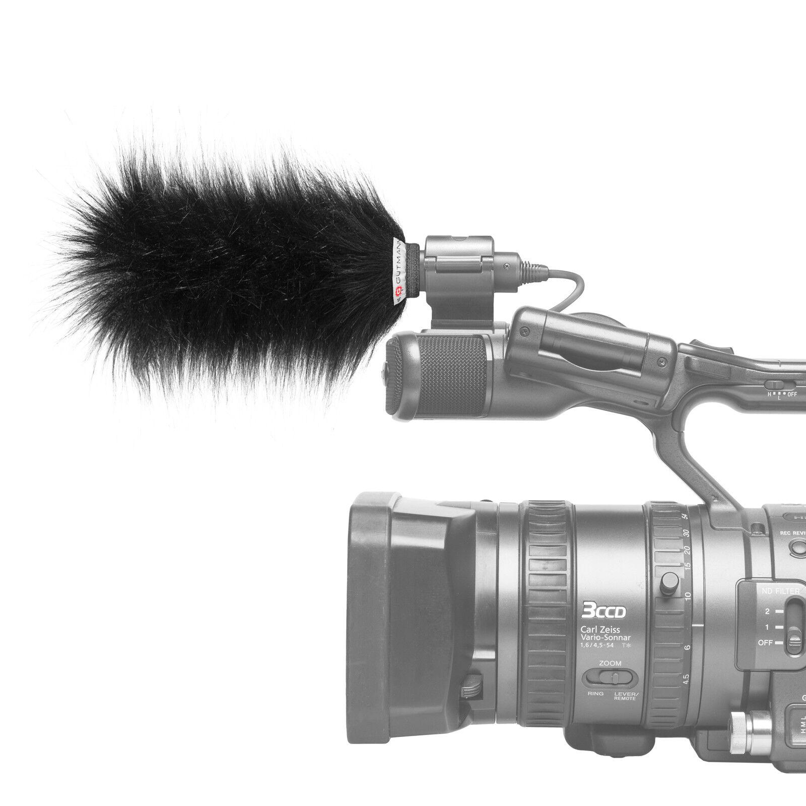 Gutmann Microphone Fur Windscreen Windshield for JVC GY-HM650 / GY-HM650E