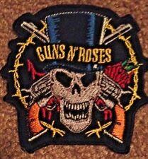 GUNS N ROSES SKULL PATCH - slash metallica appetite motorhead guns and roses axl