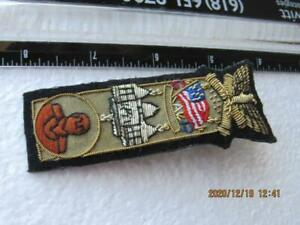 Civil War GAR Office Patch Pin Gorgeous Military   (2020L4)