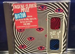 Insane-Clown-Posse-Bizzar-CD-1st-Press-w-3D-Glasses-ICP-twiztid-esham-juggalo