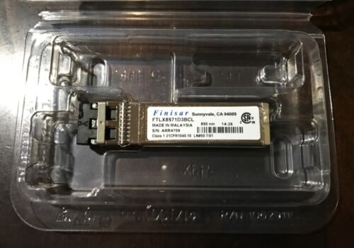 SFP-10GE-SR Finisar Sonicwall 01-SSC-9785 10G 850nm for NSA 6600 5600 4600 3600