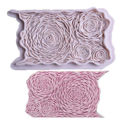 Decor mold Flower Form Fondant Kitchen DIY baking silicone sugarcraft