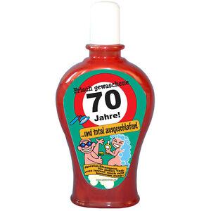 70 geburtstag shampoo 350ml scherzartikel witzige - 70 geburtstag geschenk selbstgemacht ...