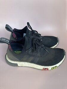 Adidas NMD R1 675001 Black Trainers UK