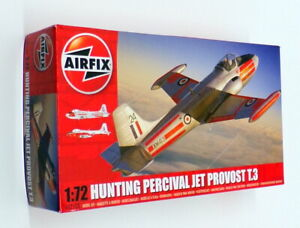 Airfix-1-72-Scale-Model-Kit-A02103-Hunting-Percival-Jet-Provost-T3
