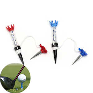 Golf-70mm-Training-Ball-Tee-Magnetic-Step-Down-Golf-Holder-Tees-Accessories-LN