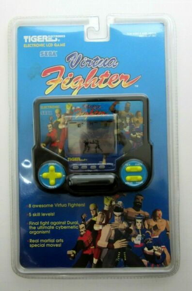 NEW Sealed Tiger Electronics Sega Virtua Fighter LCD Handheld Video Game NIP