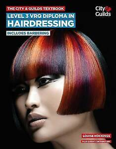 The city guilds textbook level 3 vrq diploma in hairdressing stock photo fandeluxe Images