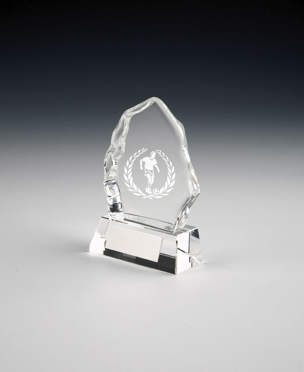5 x 4  Male 'Iceberg' Football Awards (RRP .95 each) post and engraving free