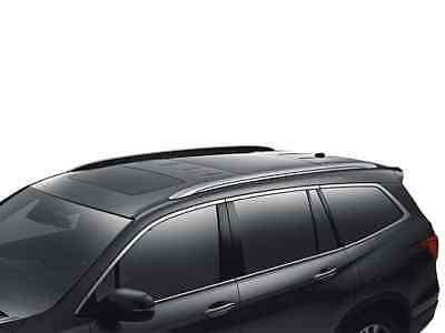 Genuine Oem 2016 2021 Honda Pilot Silver Roof Rails Ebay
