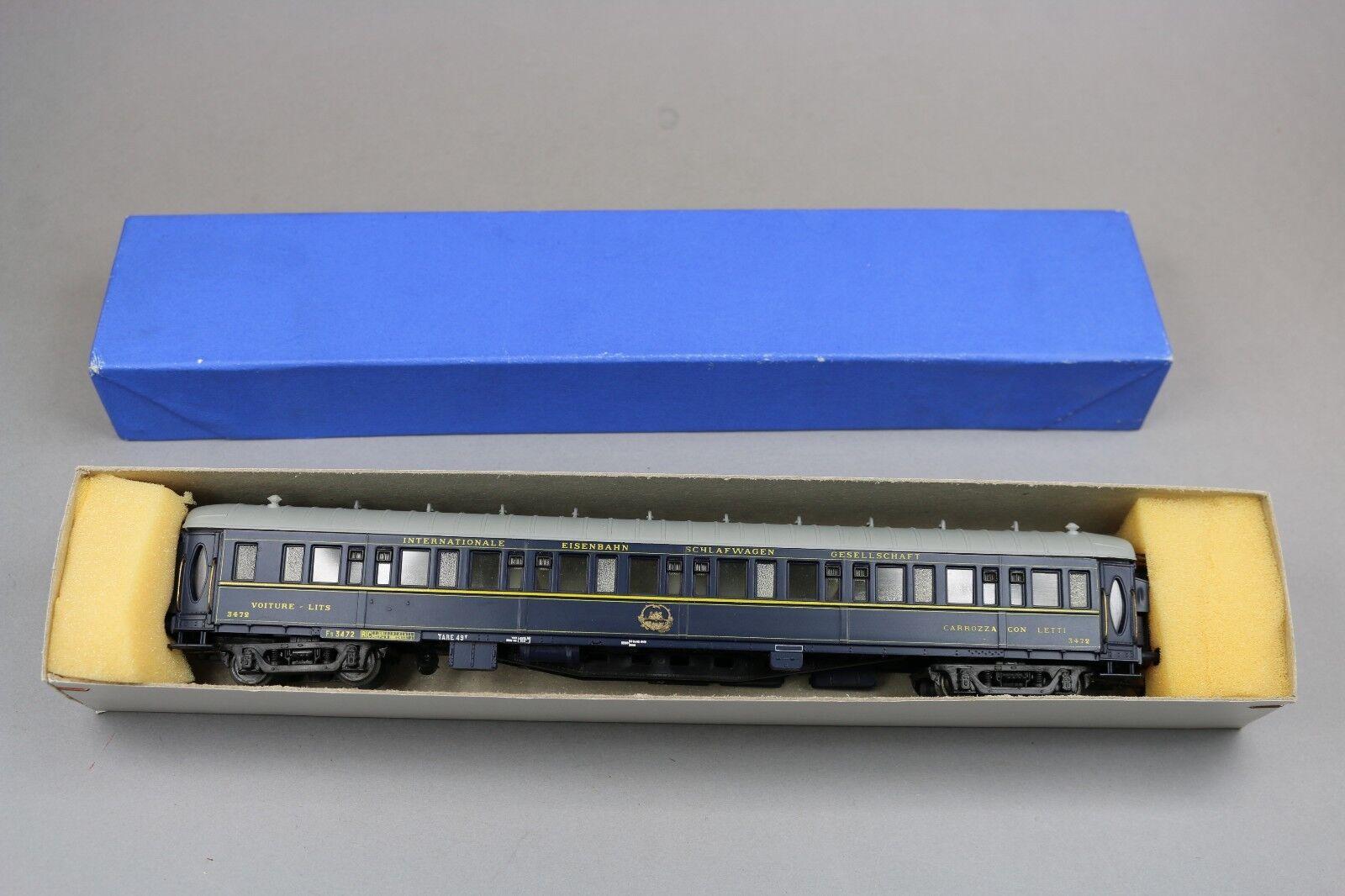 Y443 France trains Ho 302 voiture voyageur lit LX CIWL français allemand montée