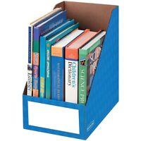 Fellowes Magazine File Holder Ltr 8x11-3/4x12-3/4 Blue 3380901