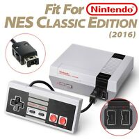 Nintendo Nes Mini Classic Edition Controller W/ 6' Cable (no Extension Needed)