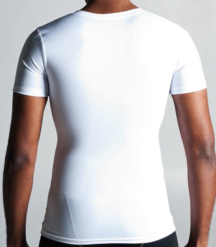 CONTENITIVE T-shirt per GINECOMASTIA Maglia intima Xxl Pacco Pacco Pacco da 6 AFFARE Bianco 8cf25f