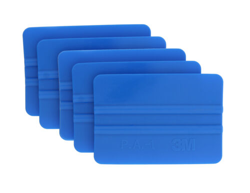 5-Pack Blue 3M 71601 Scotchcal Application Squeegees