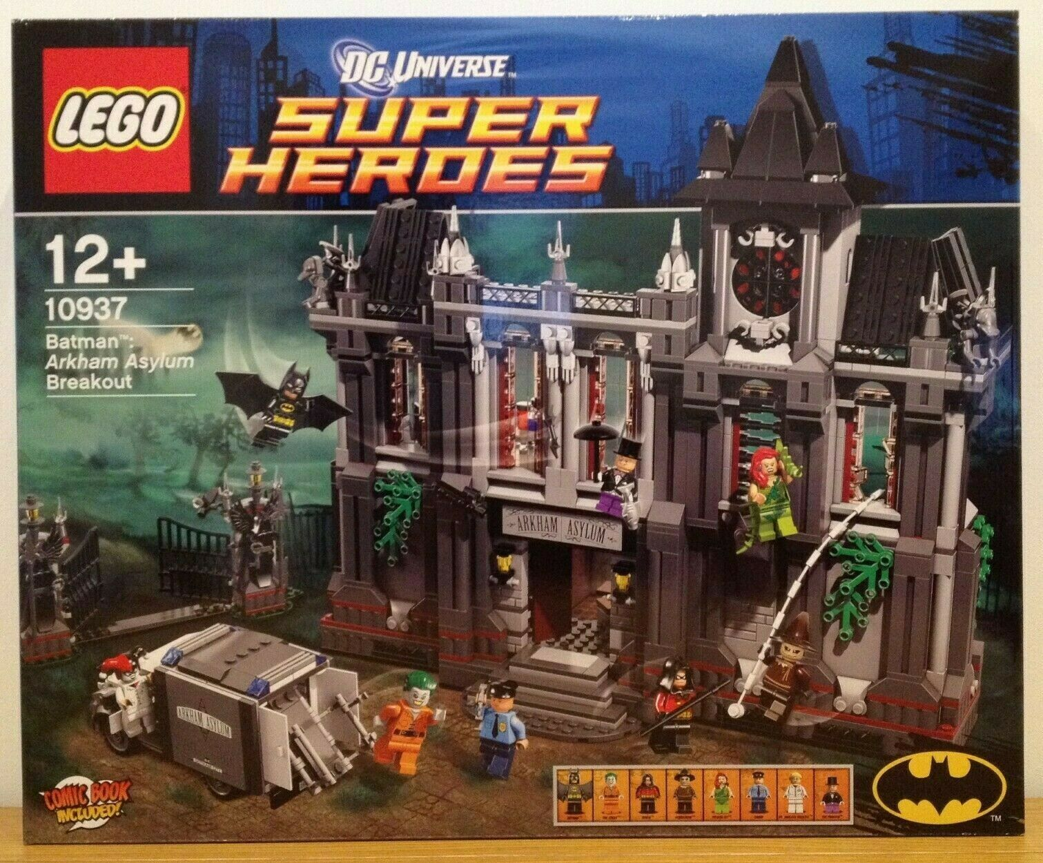 Lego DC Comics Super Heroes 10937 - Batman Arkham Asylum Breakout - Never Opened