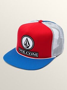 VOLCOM-DUALLY-CHEESE-MESH-SNAPBACK-CAP