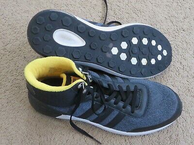 VGC Adidas Cloudfoam Race hightop lightweight athletic tennis shoes mens 12 | eBay