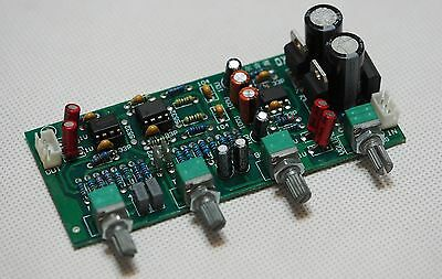 Tone control w/balance & volume control preamplifier with servo regulation !