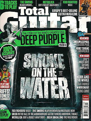 TOTAL GUITAR UK 225 March 2012 Deep Purple Learn to Play Smiths Metallica TAB