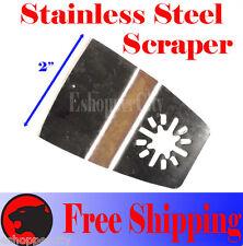 Scraper Oscillating Multi Tool Blades Disc Fein Multimaster Bosch Dremel ryobi
