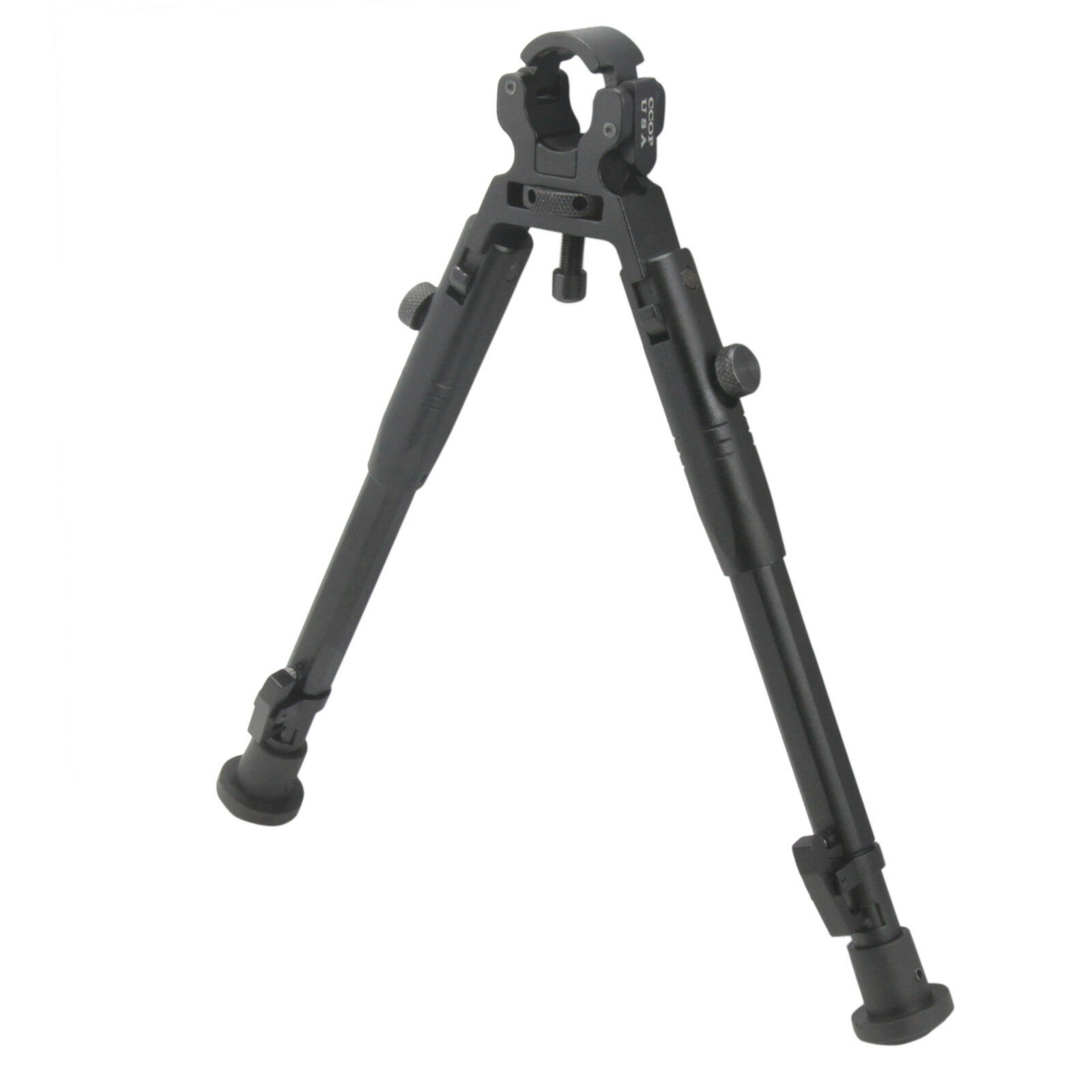 CCOP USA Tactical Hunting Clamp-On Rifle Adjustable Bipod Stabilizer BP-39AM