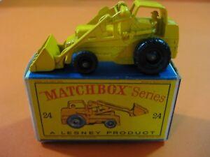 Excavatrice Hydraulique Matchbox Lesney Nº24 Vintage 60/70