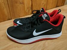 9fd19ccb5d25 BY BASKETBALL SHOES size 12  908973-006 BRED black red -NIKE MENS FLY.BY  BASKETBALL SHOES size 12  908973-006 BRED black red