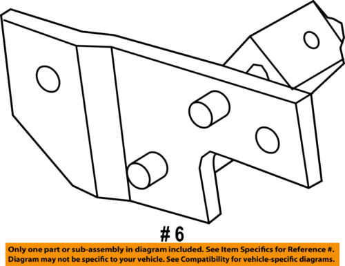 FORD OEM 10-13 Transit Connect 2.0L-L4 Exhaust-Front Hanger 9T1Z5A204A