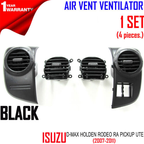 AIR VENT VENTILATOR COMPLETE SET FOR ISUZU DMAX D-MAX HOLDEN RODEO 2002-2006