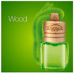 Aroma car wood hanging air freshener for car room - Natural air freshener for bathroom ...