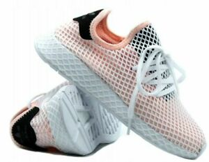ec3c9a2c6 Image is loading B28075-Adidas-Originals-Deerupt-Runner-Peach-Pink-White-