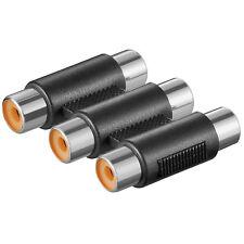 Goobay 2 ST. Audio-Adapter3 xCinch Kupplung>3xCinch Kupplung