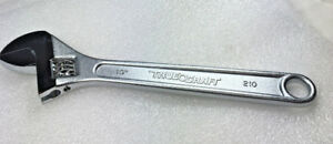 "True Craft 1 PC 6"" inch  Crescent Type Adjustable Wrench Japan Chrome Vanadium"