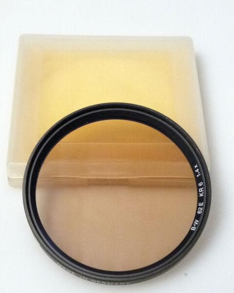 (prl) B+w Kr 6 1,4x 62 E Mm Filtro Foto Photo Filter Filtre Filtar Filtru