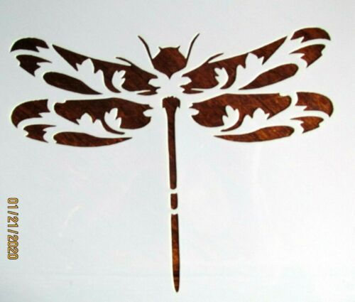 Dragonfly Stencil Reusable 10 mil Mylar Stencil Summer Bee/'s Dragonfly/'s Garden