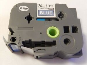 CASSETTA-NASTRO-B-B-24mm-VHBW-per-Brother-2500-PC-2730-VP-7500-VP