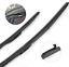 2 x HYBRIDES 500,450 mm essuie-glaces de raclettes Japon Design hi5045s 502