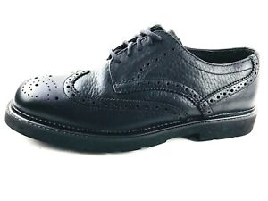 Image is loading Hush-Puppies-Wingtip-Men-039-s-Shoes-Black-