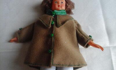 Manteau Pour Poupée/poupon Mignon/ Mignonnette ou Autre 15/20 Cm