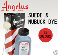 Angelus Suede Dye 25 Colours - For Dying Mens Or Ladies Boots Shoes Bags