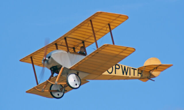 1/3 Scale Sopwith Tabloid / Giant Scale RC Model AIrplane Printed Plans