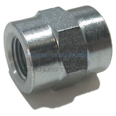 EDGE INDUSTRIAL Brass 45/º Street Elbow 1//8 FNPT x 1//8 MNPT Fuel//AIR// Water//Oil// Gas WOG