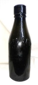Antique Kops Regd, Dark Green, Three Part Moulded Bottle