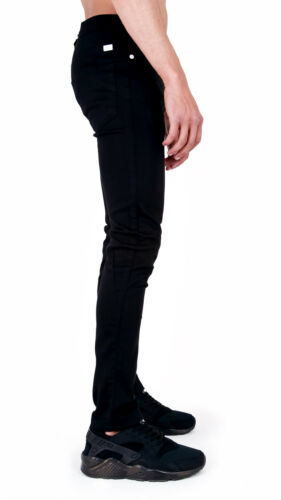 MENS SUPER SKINNY STRETCH CHINOS JEANS SMART CASUAL TROUSERS PANTS by AD