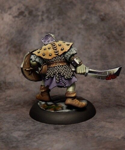 Reaper Dungeon Dwellers Orc Warrior of the Ragged Wound Tribe 07007 Unpainted