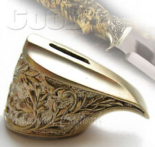 Awesome Finger Guard Made of Bronze for Custom Knife Making Handle Bolster #8