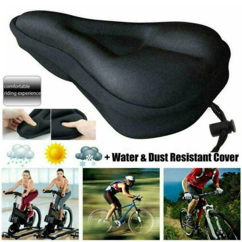 Bike Cycle Bicycle Extra Comfort Gel Pad Cushion Cover For Saddle New Comfy Seat