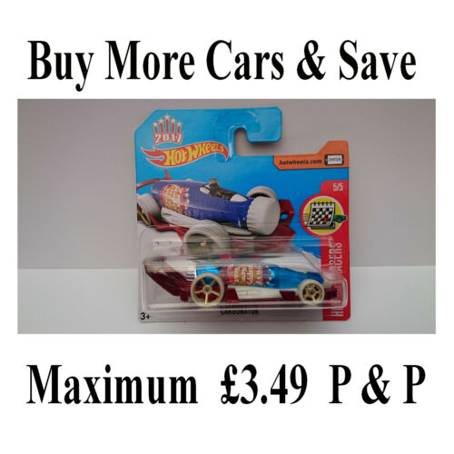 """HOTWHEELS SCALA 1:64-2017 /""""HOLIDAY RACERS/"""" carbonatatore ** ULTIME che a sinistra **"""