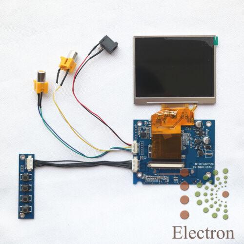 2AV Lcd controller board with LCD LQ035NC111 3.5 inch 320x240 New